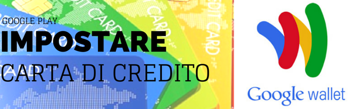 carta credito google play