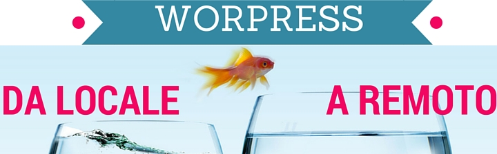 trasferire wordpress locale remoto